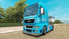 Skin Detten Johann Dorfer v1.1 for the tractor MAN for Euro Truck Simulator 2