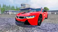 BMW i8 eDrive Feuerwehr