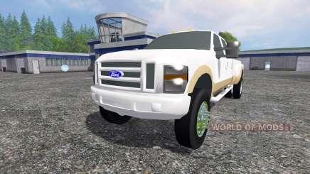 Ford F-350 2009 King Ranch for Farming Simulator 2015