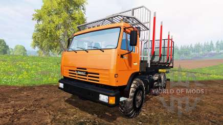 KamAZ-45143 [timber] for Farming Simulator 2015