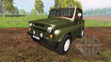 UAZ-469 v1.0 for Farming Simulator 2015