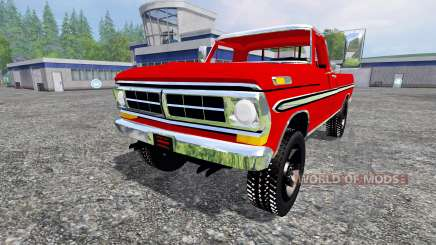 Ford F-250 1972 for Farming Simulator 2015
