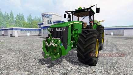 John Deere 8370R v1.3 for Farming Simulator 2015