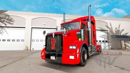 Kenworth T800 [update] for American Truck Simulator