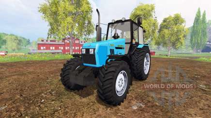 Belarus-1221 v2.0 [blue] for Farming Simulator 2015