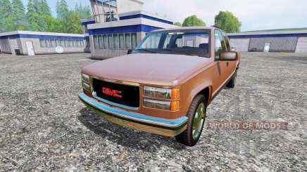 GMC Sierra 1500 1996 for Farming Simulator 2015