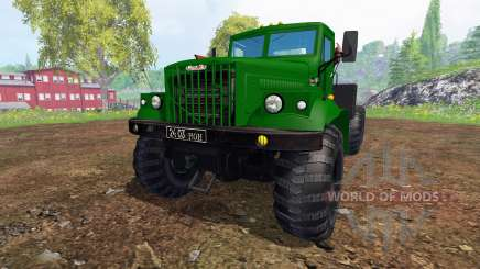 KrAZ-255 B1 v1.2 for Farming Simulator 2015