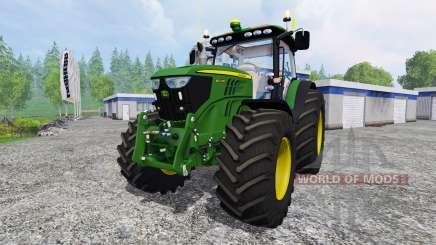 John Deere 6210R v2.0 for Farming Simulator 2015