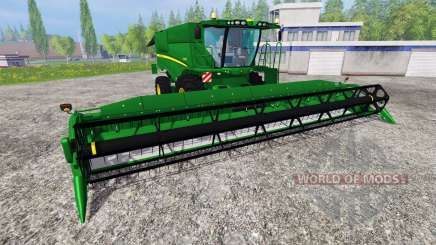 John Deere S 690i v1.5 for Farming Simulator 2015