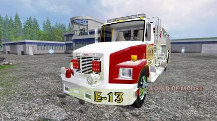 Freightliner FL60 [feuerwehr] for Farming Simulator 2015