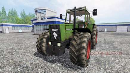 Fendt 611 LSA Turbomatic [forestry edition] for Farming Simulator 2015
