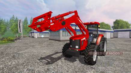 Massey Ferguson 5445 FL [ensemble] for Farming Simulator 2015