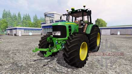 John Deere 7530 Premium v2.2 for Farming Simulator 2015