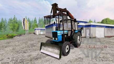 MTZ-82.1 [grapple loader] for Farming Simulator 2015