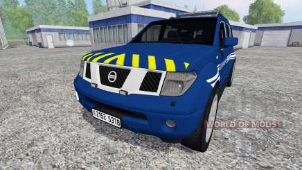 Nissan Pathfinder Gendarmerie for Farming Simulator 2015