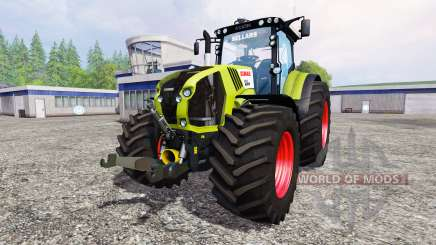 CLAAS Axion 850 v1.2 for Farming Simulator 2015