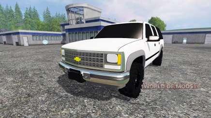 Chevrolet Suburban 1998 v2.0 for Farming Simulator 2015