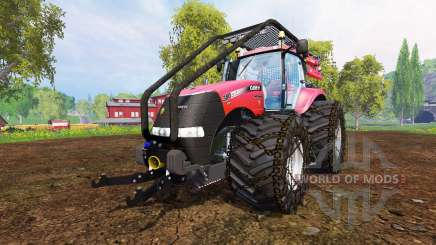 Case IH Magnum CVX 380 [forest] for Farming Simulator 2015