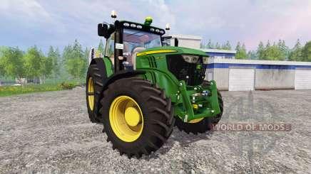 John Deere 6210R v2.1 for Farming Simulator 2015