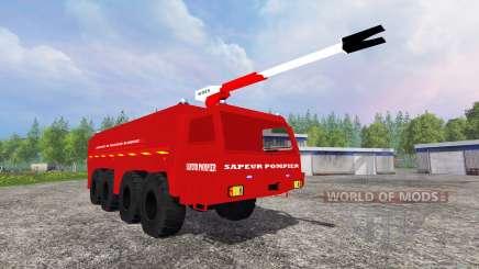 VMA Sapeur Pompiers v2.0 for Farming Simulator 2015