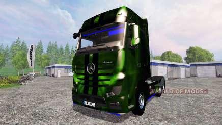 Mercedes-Benz Actros MP4 NOS Hardcore for Farming Simulator 2015