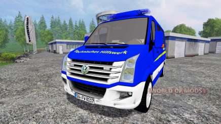 Volkswagen Crafter THW ELW for Farming Simulator 2015