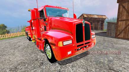 Kenworth T600B [wrecker] for Farming Simulator 2015