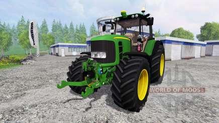 John Deere 7530 Premium v1.0 for Farming Simulator 2015
