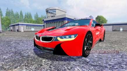 BMW i8 eDrive Feuerwehr for Farming Simulator 2015