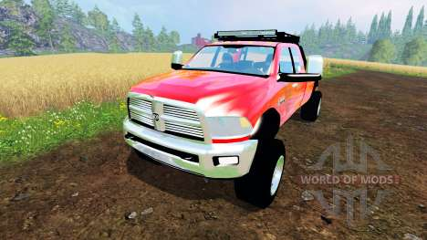 Dodge Ram 5500 Crew Cab for Farming Simulator 2015