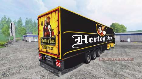 DAF XF Hertog Jan for Farming Simulator 2015
