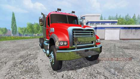 Mack Granite v2.0 for Farming Simulator 2015