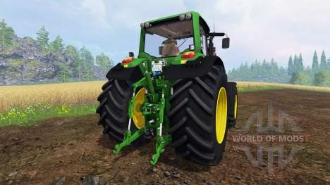John Deere 7530 Premium v2.0 for Farming Simulator 2015