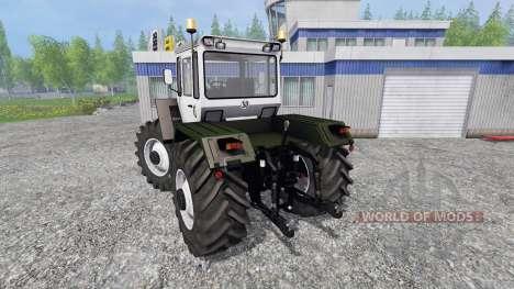 Mercedes-Benz Trac 1800 [silberdistel] for Farming Simulator 2015