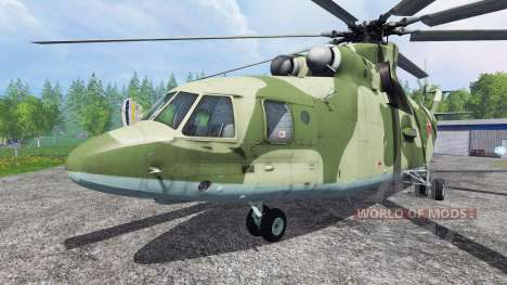 Mi-26 for Farming Simulator 2015
