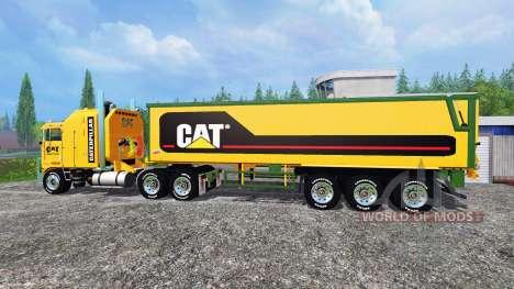 Kenworth K100 CAT for Farming Simulator 2015