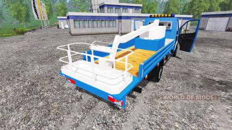 Mercedes-Benz Sprinter [nacelle] for Farming Simulator 2015