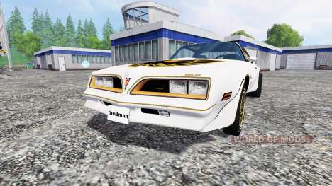 Pontiac Firebird Trans Am 1977 for Farming Simulator 2015