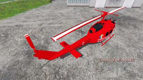 Bell UH-1D [sapeurs pompiers] for Farming Simulator 2015