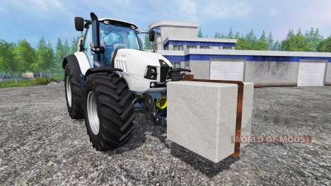Concrete counterweight for Farming Simulator 2015