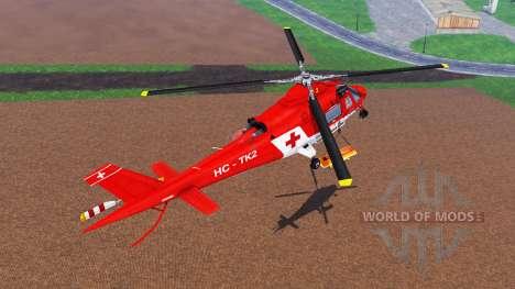 Agusta A.109 [rescue] for Farming Simulator 2015