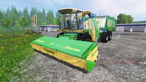 Krone Big X 650 Cargo for Farming Simulator 2015