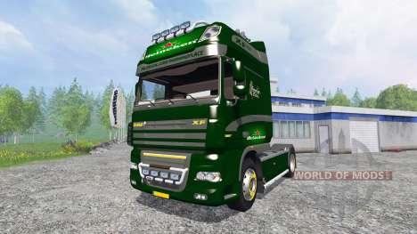 DAF XF Heineken for Farming Simulator 2015