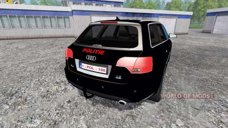 Audi A4 Police v1.1 for Farming Simulator 2015
