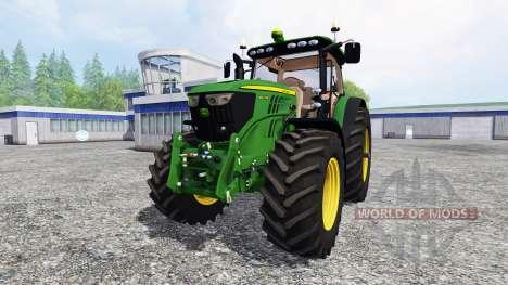John Deere 6210R for Farming Simulator 2015