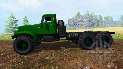 KrAZ-255 B1 v1.2.1 for Farming Simulator 2015