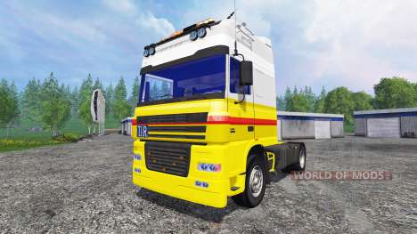 DAF XF Shell for Farming Simulator 2015