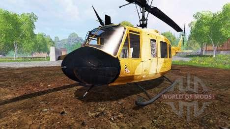 Bell UH-1D [sprayer] for Farming Simulator 2015