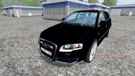 Audi A4 Police for Farming Simulator 2015