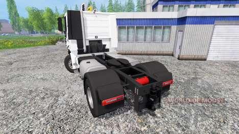 Iveco Stralis V8 LowCab for Farming Simulator 2015